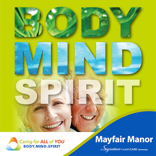 Brochure Download for Lexington Nursing Facility Mayfair Manor